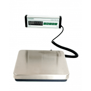 Weighing scales B-200 Boxer used by dry cleaners and launderettes