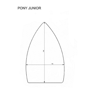 Pony Junior iron shoes