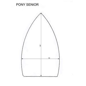 Pony Senior iron shoes