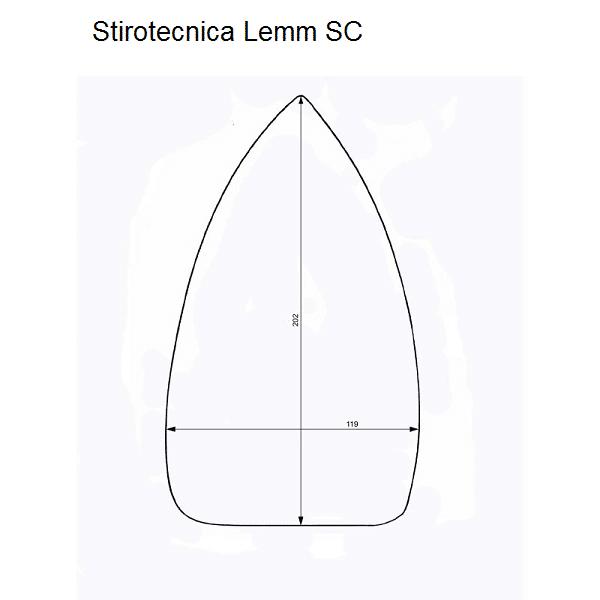 Stirotecnica Lemm SC iron shoes