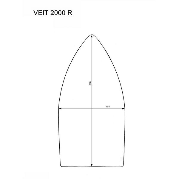 Veit 2000R iron shoes