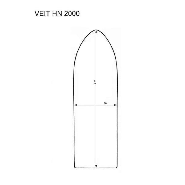 Veit HN 2000 iron shoes